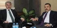 Kavcıoğlu'ndan Başkan Memiş'e ziyaret