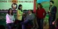 'Köyümde Tiyatro Var' turnede