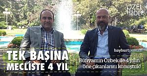 Son meclisin tek vekili: Bünyamin Özbek