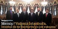 """Memiş: """"İstanbul Bayburtlu bir bürokrata çok yakışmış"""""""