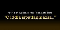 MHP Bayburt İl Teşkilatı'ndan Özbek'e sert yanıt!