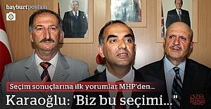 MHP kurmaylarından ilk açıklamalar
