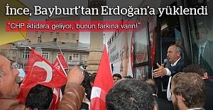 Muharrem İnce, Bayburt#039;tan Erdoğan#039;a...