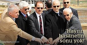 Mustafa Köseoğlu Cami#039;nin temeli atıldı