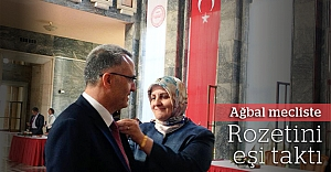Naci Ağbal mecliste
