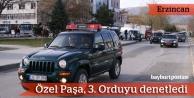 Necdet Özel, günü Erzincan'da geçirdi