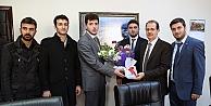 Öğrenci konseyinden Rektör Coşkun'a ziyaret