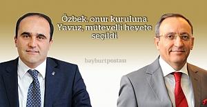 Özbek onur kuruluna, Yavuz mütevelli heyete seçildi