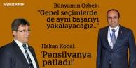 Özbek ve Kobal seçim zaferini kutladı