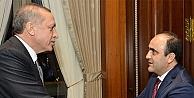 Özbek'e Aksaray'da sıcak karşılama