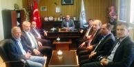 Özbek'ten belediyelere ziyaret