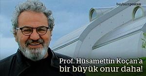 Prof. Hüsamettin Koçan, AKM Şeref Üyesi seçildi