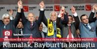 Prof. Kamalak, Bayburt'ta konuştu