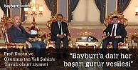 """Prof. Koçan ve Okutmuş'tan Vali Şahin'e """"hayırlı olsun"""" ziyareti"""