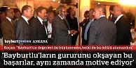 Prof. Koçan'a Ankara'da yaşayan hemşerilerinden teşekkür