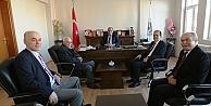Rektör Coşkun, Demirözü'nde ziyaretlerde bulundu