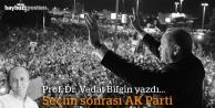 Seçim sonrası AK PARTİ