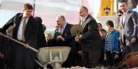 Şehit Osman Villaları'nın temeli atıldı