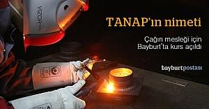 TANAP'ın argon kaynakçıları Bayburt'ta yetiştiriliyor