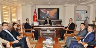 Tunceli'nin yeni valisi Osman Kaymak görevine başladı