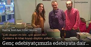 Turgut Akaslan'la edebiyata dair...