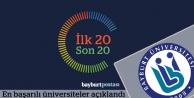 Türkiye'nin en başarılı üniversiteleri açıklandı