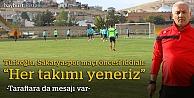 """Türkoğlu: """"3 puanı alan biz olacağız"""""""