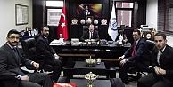 Ülkü Ocakları'ndan Rektör Coşkun'a ziyaret