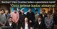 Ülkücülerden 'Cumhuriyet Gazetesi almayın' çağrısı