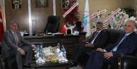 Vali Ünlüer'den Başkan Memiş'e ziyaret