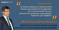 Yavuz'un açıklamalarını AK Parti 'talihsiz' buldu