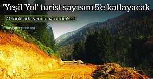 """""""Yeşil Yol"""" Karadeniz'in turist sayısını 5'e katlayacak"""