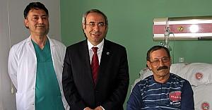 YYÜ#039;de norkozsuz açık kalp ameliyatı yapıldı