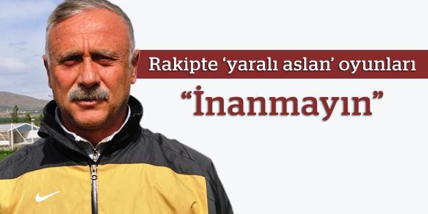 """Topuzoğlu: """"Rakip hakkında çıkan haberlere inanmayın"""""""