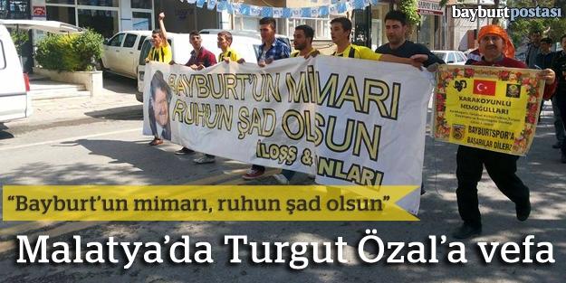 Turgut Özal'a vefa gösterisi