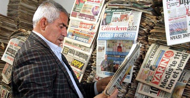 """""""Türk basını çok çabuk gömlek değiştiriyor"""""""