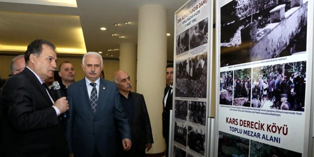 Türk Soykırımı ve Ermeni Terörü sergilendi