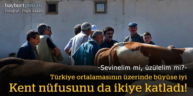Türkiye ortalamasının üzerinde büyüyor!