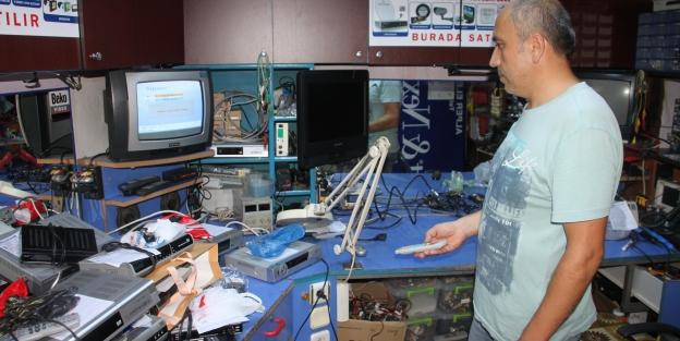 Uydu frekansları değişti, vatandaş elektronikçilere akın etti