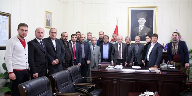 Vali Odabaş, AK Parti yönetimini ağırladı