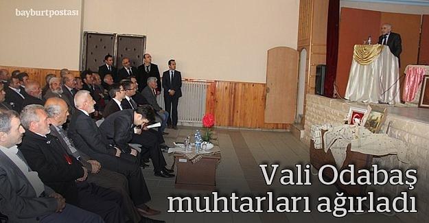 Vali Odabaş, köy yatırımlarını anlattı