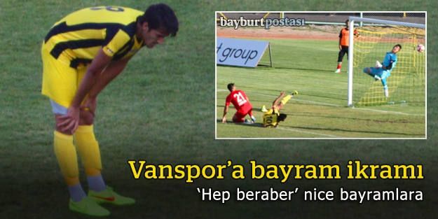 Vanspor'a bayram ikramı