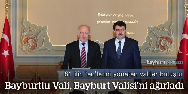 Vasip Şahin, Bayburt Valisi'ni ağırladı