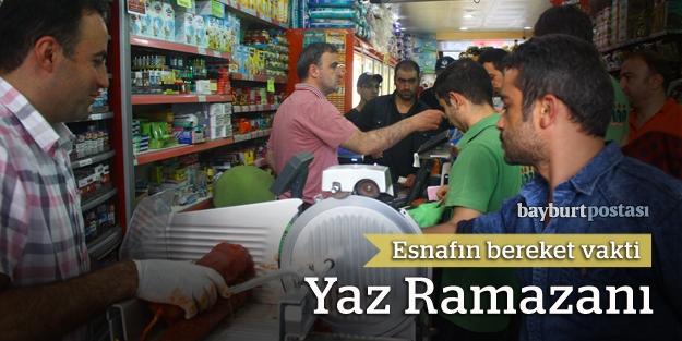 Yaz Ramazanı, esnafa bayram oldu