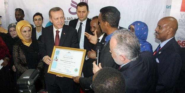 Yetişmiş insan gücü Somali'ye...