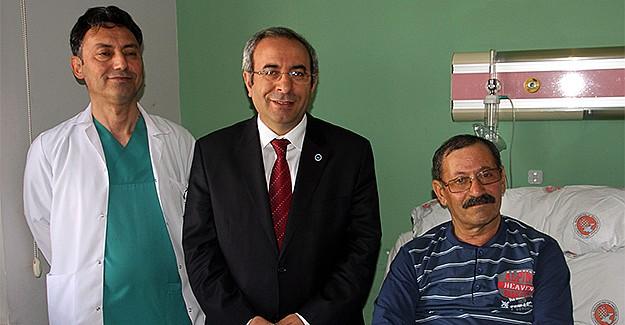 YYÜ'de norkozsuz açık kalp ameliyatı yapıldı