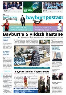 Bayburt Postası - Nisan 2016 Manşeti