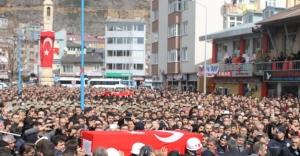 Şehit Türkoğlu, son yolculuğuna uğurlandı