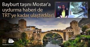 Bayburt taşı ile ilgili uydurma bilgi TRT'de