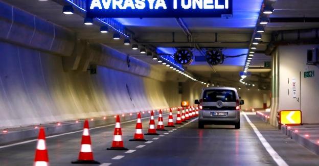 Avrasya Tüneli'nden geçişler başladı